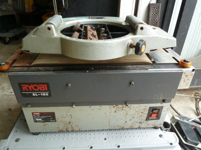 リョービ  RYOBI  小型超仕上げカンナ SL-180 を買取しました。岡山店