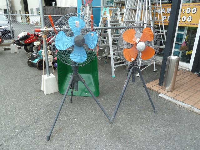8月に入り暑さも本番、工場扇はいかがですか、在庫残りわずかです。岡山店