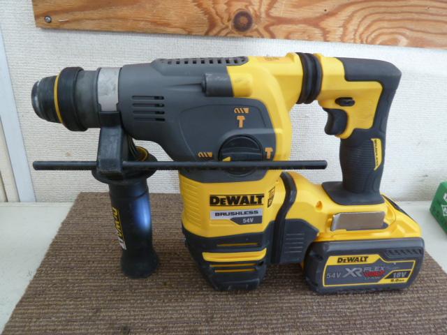 デウォルト(DeWALT) DCH333X2-JP 54V SDS+ ブラシレスハンマードリル  を買取しました。岡山店