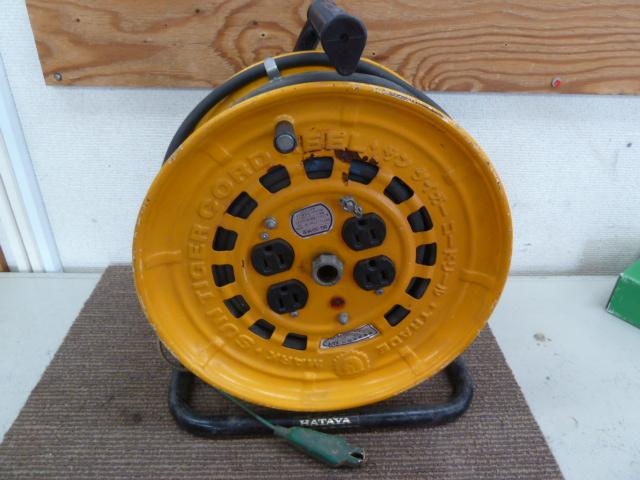 ハタヤ 電工ドラム コードリール BG-301K型 を買取しました。岡山店