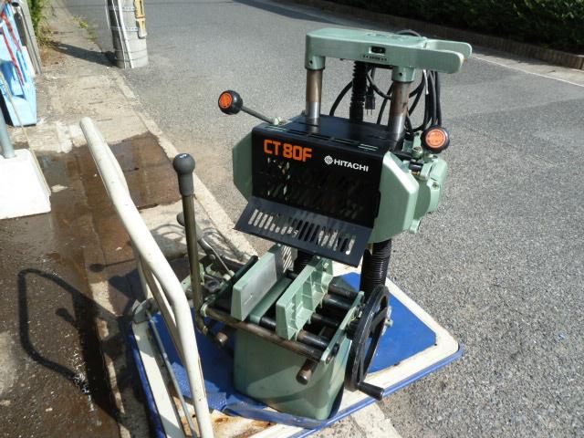 日立工機 245mm電動昇降ほぞ取り CT80F を買取しました。岡山店