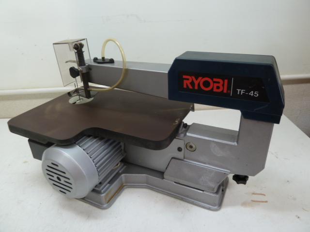 リョービ RYOBI 卓上糸ノコ盤 TF-45 を買取しました。岡山店