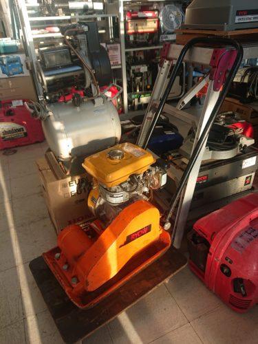 リョービ 60Kgエンジンプレートコンパクターを買取しました!整備済み!岡山店 2020/9/15