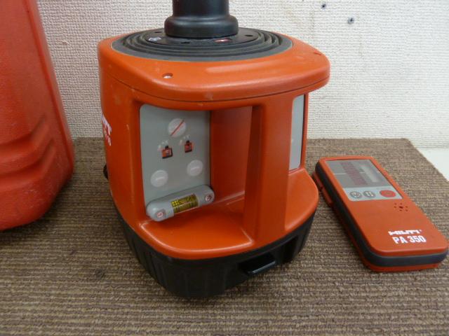 ヒルティ HILTI PR16 ローディングレベル 回転レーザー を買取しました。岡山店