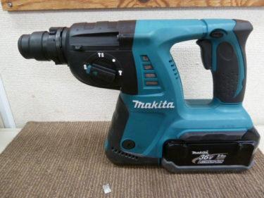 makita マキタ  36V 26mm充電式ハンマドリル HR262DRDX を買取しました。岡山店2020/9/06