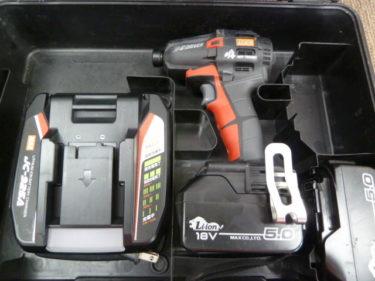 MAX マックス 充電式静音インパクトドライバ 18V PJ-SD102-B2C/1850A を買取しました。岡山店2020/9/14