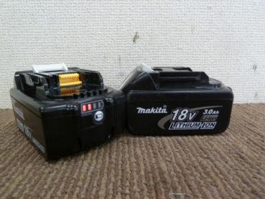 マキタバッテリー BL1860B・BL1850B、日立・ハイコーキバッテリー BSL1860・BSL36A18 マルチボルト、買取強化中です。