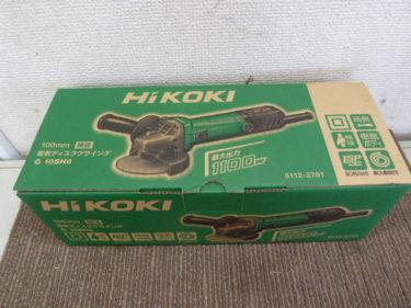 (日立)ハイコーキ ディスクグラインダー、マキタ ディスクグラインダー 多数存在あります。岡山店
