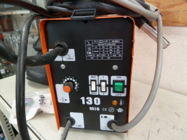 DUTY JAPAN ノンガス半自動溶接機 MIG-130 200V を買取しました。岡山店 2020/9/18