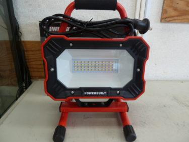 アイガーツール: パワービルド LED投光器 EKS0197 を買取しました。その他、多数の投光器在庫があります。岡山店2020/9/21