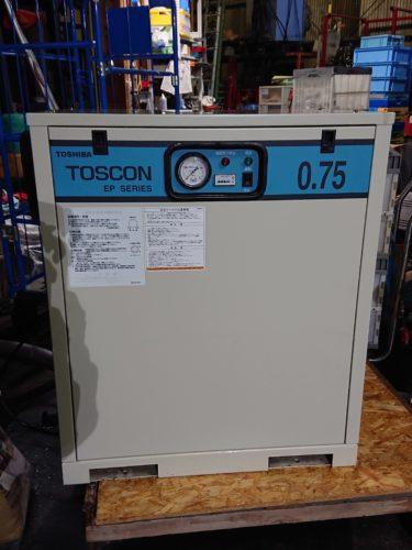 東芝 トスコン パッケージ型防音エアーコンプレッサーを出張買取しました!倉敷店2020/10/22