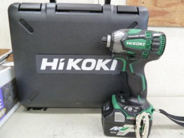 HiKOKI(ハイコーキ/日立工機) 36V マルチボルトコードレスインパクトドライバ WH36DA(2XP) を買取しました。岡山店2020/10/10