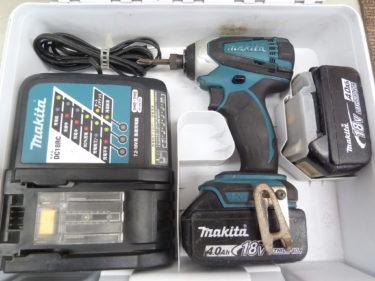 マキタ 18V 4.0Ah インパクトドライバー TD146DMX2 を買取しました。岡山店2020/10/18