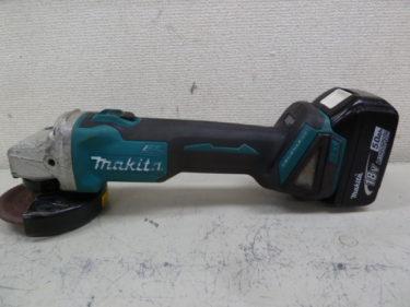 マキタ makita  18V充電式ディスクグラインダ 100mm   GA404D を買取しました。岡山店2020/10/26