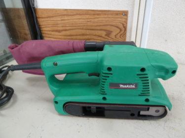 makita マキタ 電動工具 76mm ベルトサンダ M990 を買取しました。岡山店2020/10/31
