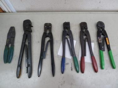 AMP 16-14 2 1/2-4 PIDG 他、 色々な手動圧着工具 多数在庫があります。岡山店2020/11/1