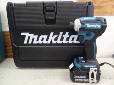 マキタ 新品インパクトドライバー TD171DRGX と 新品バッテリー BL1860B を買取しました。岡山店2020/11/7