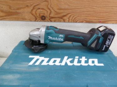 マキタ GA404D 18V 100mm充電式ディスクグラインダー を買取しました。岡山店2020/11/9