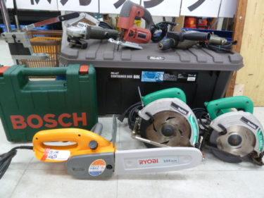 色々な工具を買取させていただいておりますが、PRO・DIY どちらも大歓迎です。