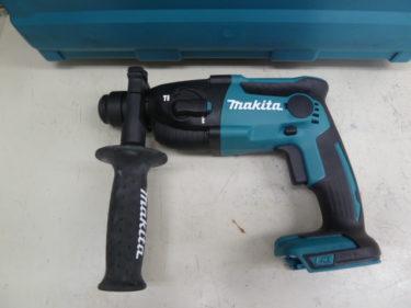 マキタ 18V 充電式ハンマドリル  HR165DZK 青/本体+ケースのみ(バッテリー、充電器別売)を買取しました。岡山店2020/11/20