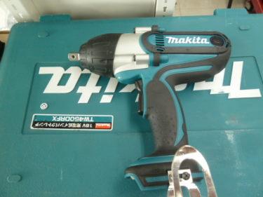 Makita/マキタ 充電式インパクトレンチ 18V 3.0Ah バッテリー2個付き TW450DRFX を販売中です。岡山店2020/11/20