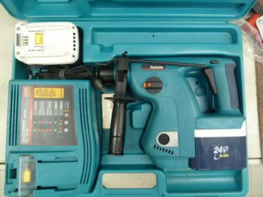 makita マキタ  充電式ハンマードリル HR200D ニッケル水素電池2個付 を買取しました。岡山店2020/11/26