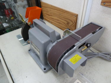 日立/HITACHI 〈ハイコーキ〉 卓上ベルトグラインダー BGM-50 を入荷しました。岡山店2020/12/10